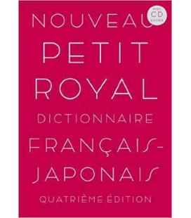 Nouveau Petit Royal Dictionnaire Français-Japonais (Avec CD Extra)