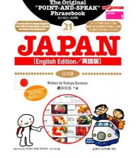 """El libro de las frases útiles para """"Hablar señalando"""" -Versión en inglés- (Colección Japan 21)"""